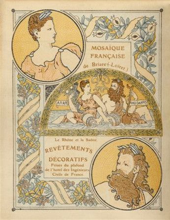 Catalogue de mosaïque Briare, 1906